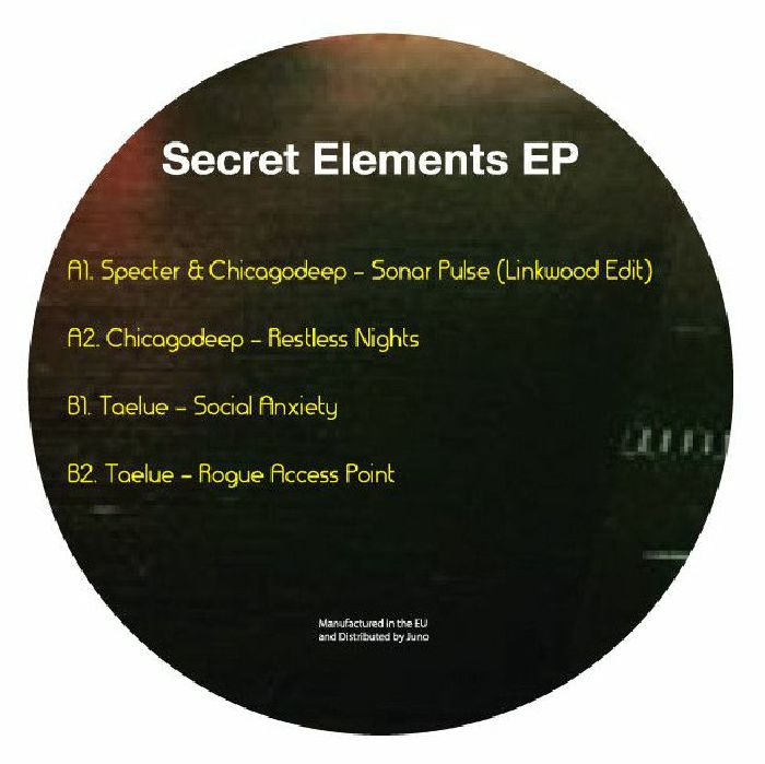 Various/SECRET ELEMENTS EP 12""