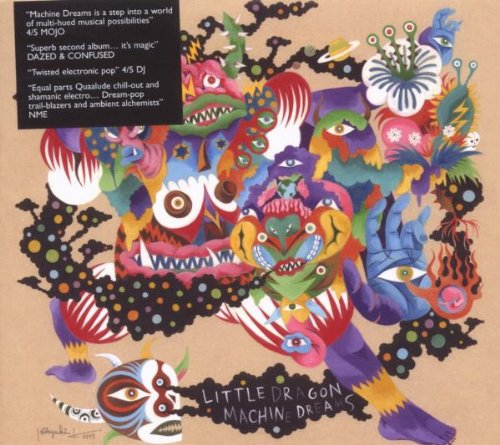 Little Dragon/MACHINE DREAMS CD