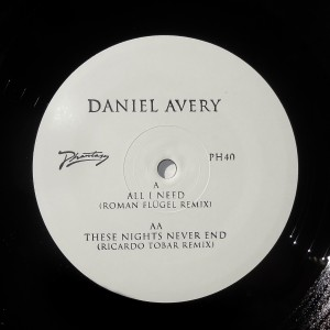 Daniel Avery/ALL I NEED REMIX 12""