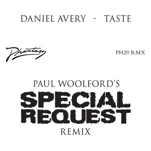 """Daniel Avery/TASTE - PAUL WOOLFORD 12"""""""