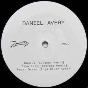Daniel Avery/SLOW FADE REMIXES 12""