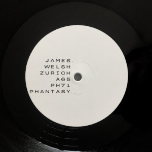 James Welsh/ZURICH 12""