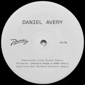 Daniel Avery/SONG FOR ALPHA RMXS PT2 12""