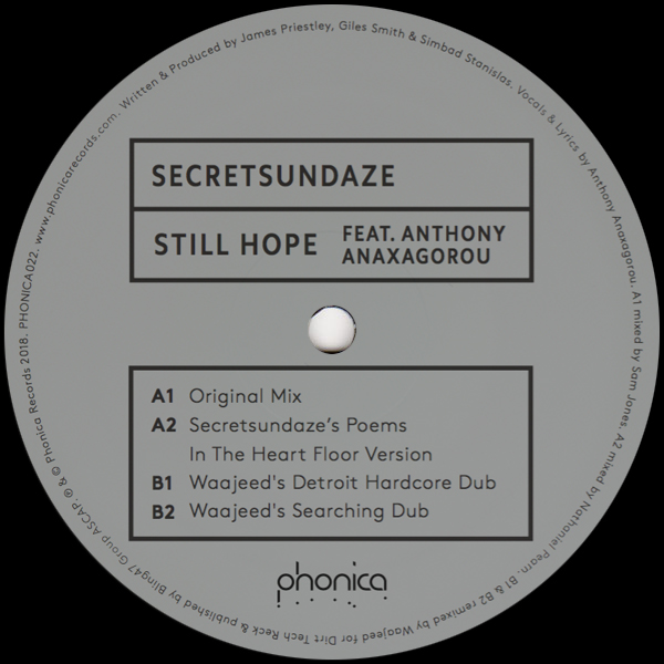 Secretsundaze/STILL HOPE 12""
