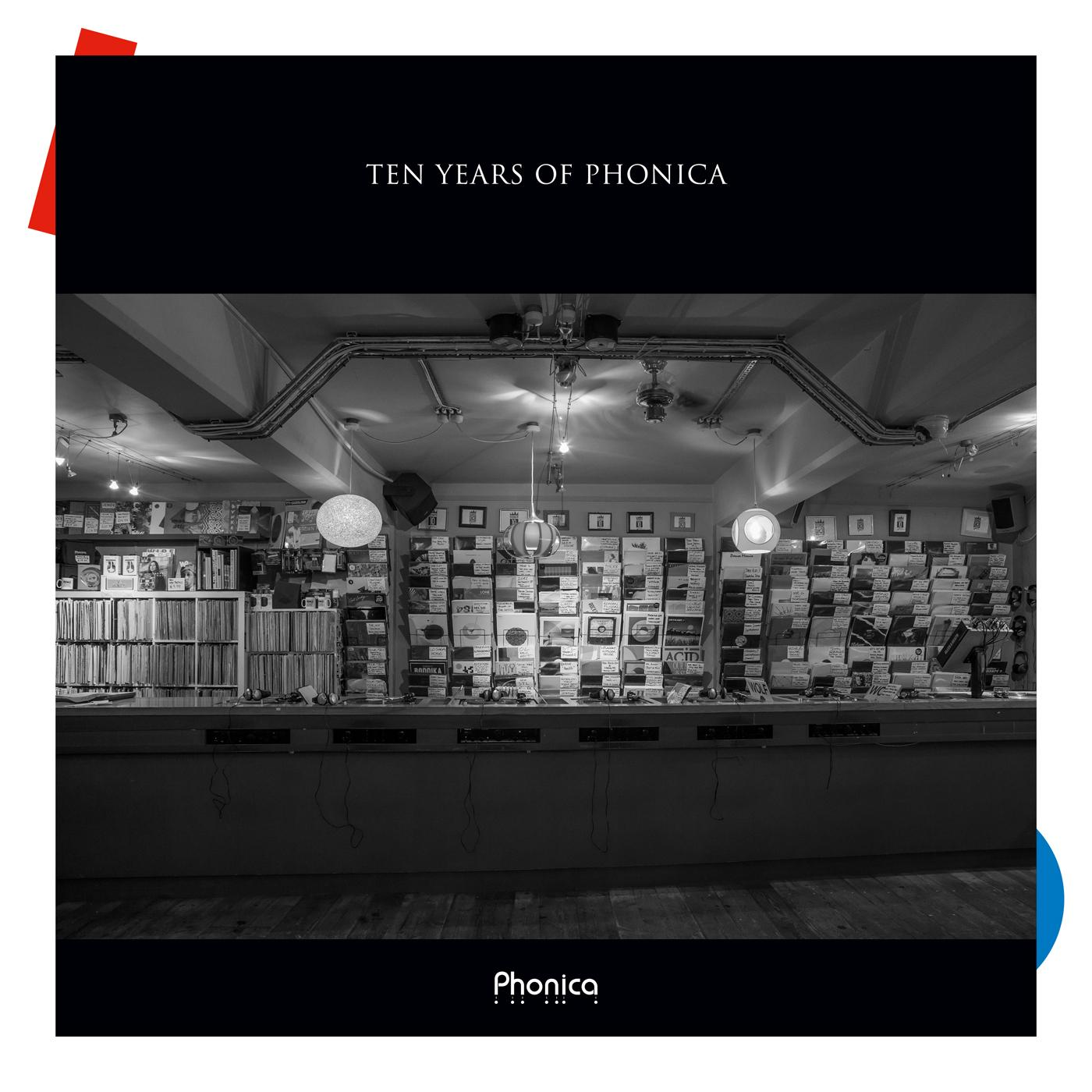 Various/TEN YEARS OF PHONICA 3CD
