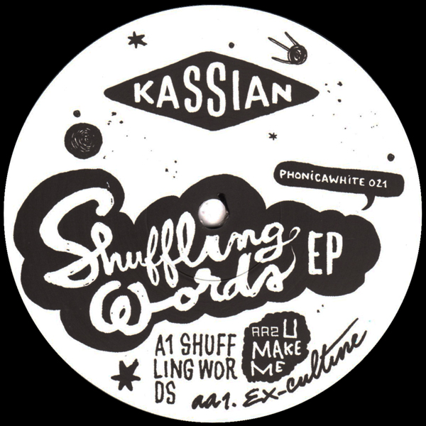 Kassian/SHUFFLING WORDS EP 12""
