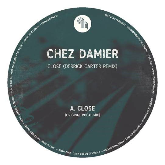 Chez Damier/CLOSE-DERRICK CARTER RMX 12""