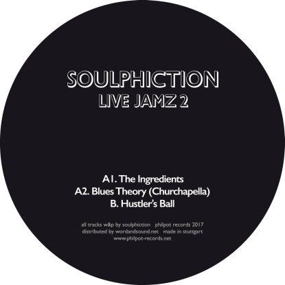 Soulphiction/LIVE JAMZ 2 12""
