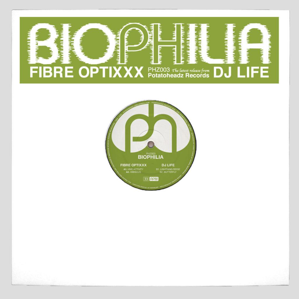 "Fibre Optixxx & DJ Life/BIOPHILIA EP 12"""