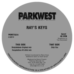 Ray's Keys/TEMPTATIONS & ONLY YOU 12""