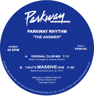 Parkway Rhythm/THE ANSWER 12""