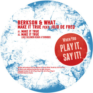 Berkson & What/MAKE IT TRUE 12""