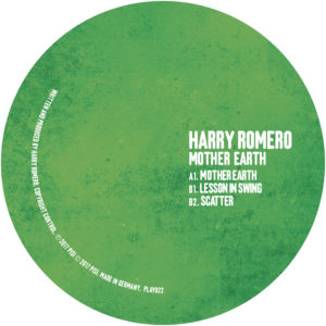"Harry Romero/MOTHER EARTH 12"""