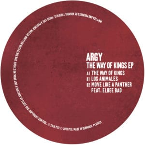 Argy/THE WAY OF KINGS EP 12""