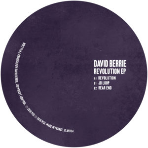 "David Berrie/REVOLUTION EP 12"""