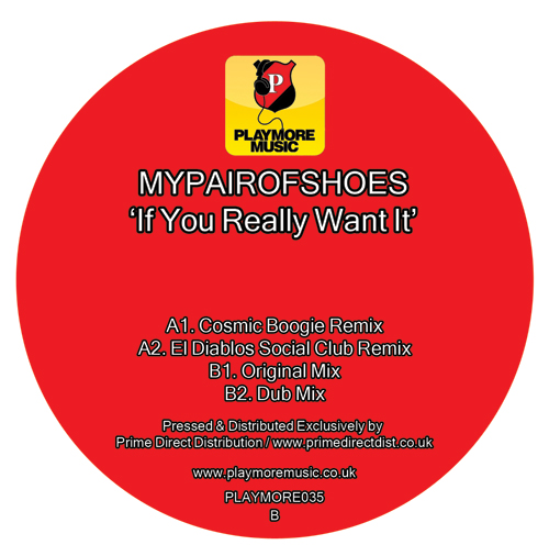 Mypairofshoes/IF YOU REALLY WANT IT 12""