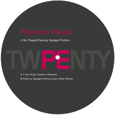 Paperclip People/4 MY PEEPZ REMIXES 12""