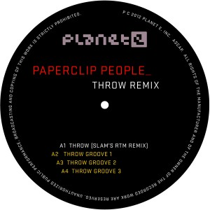 Paperclip People/THROW SLAM REMIX 10""