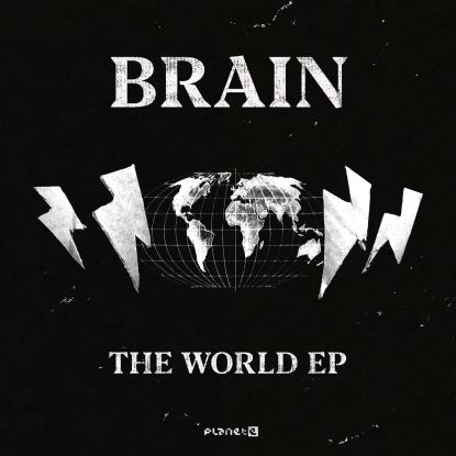 "Brain/THE WORLD EP D12"""