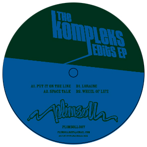 "Kompleks/EDITS EP (LYN COLLINS) 12"""