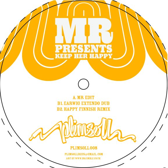 MR Presents/KEEP HER HAPPY REMIXES 12""
