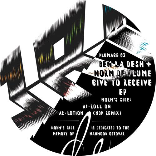 """Ben La Desh & Norm De Plume/GIVE EP 12"""""""
