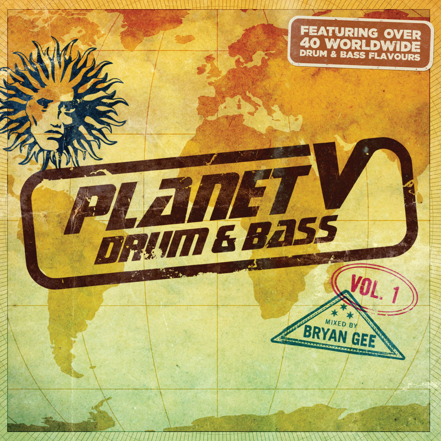 Bryan Gee/PLANET V DRUM & BASS VOL 1 DCD