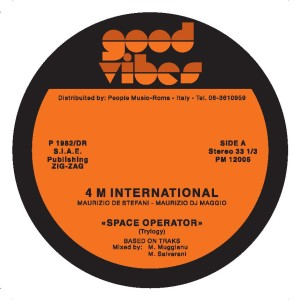 4M International/SPACE OPERATOR 12""
