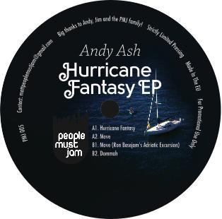 "Andy Ash/HURRICANE FANTASY EP 12"""