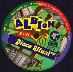 "Albion/DISCO RITUAL EP 12"""