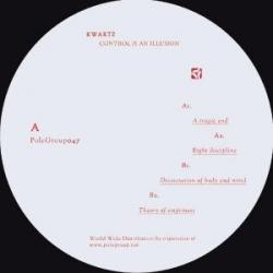 Kwartz/CONTROL IS AN ILLUSION EP 12""