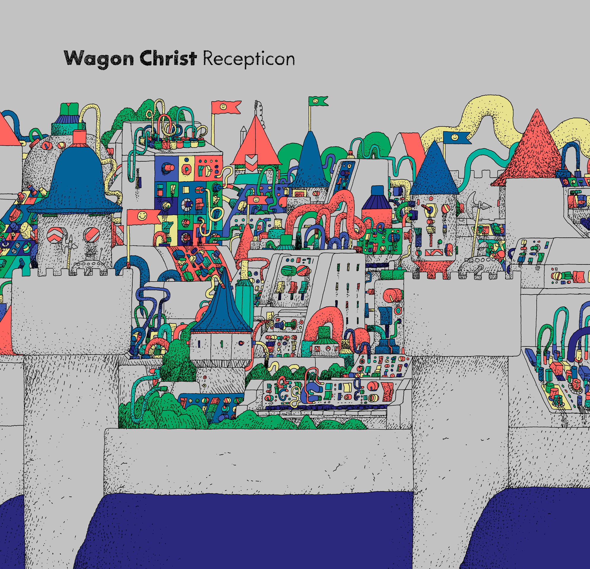 Wagon Christ/RECEPTICON (YELLOW CV) DLP
