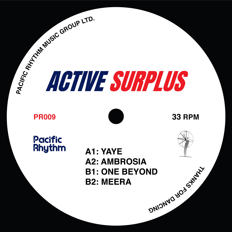 "Active Surplus/ACTIVE SURPLUS EP 12"""