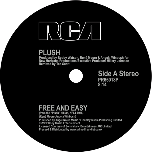 Plush/FREE AND EASY 12""