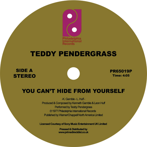 """Teddy Pendergrass/YOU CAN'T HIDE... 12"""""""