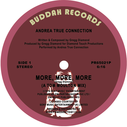 Andrea True Connection/MORE... -RSD 12""