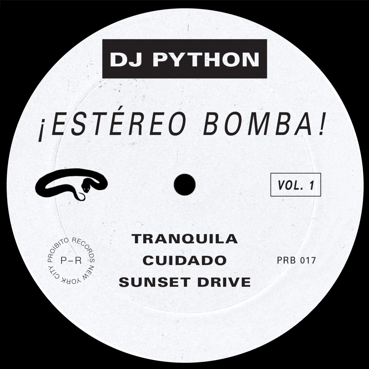"DJ Python/ESTEREO BOMBA EP 12"""