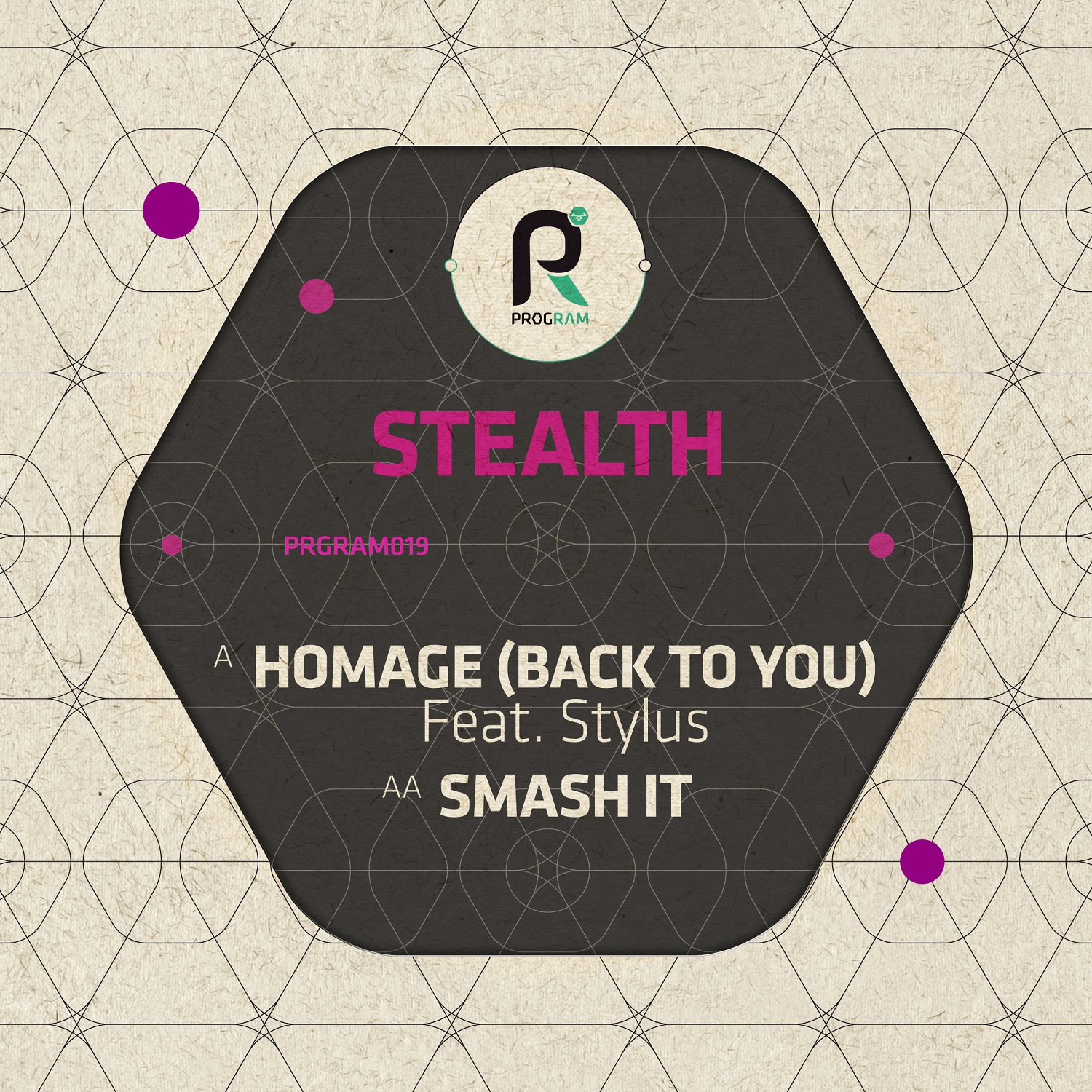 Stealth/HOMAGE (BACK TO YOU) 12""