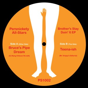 Persnickety All-Stars/BROTHERS STAY..12""