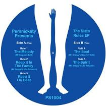 Persnickety All-Stars/SISTA RULES EP 12""