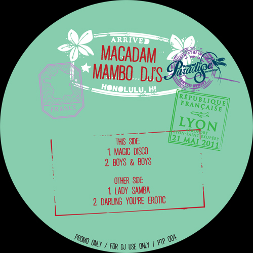 Macadam Mambo DJ's/MAGIC DISCO 12""