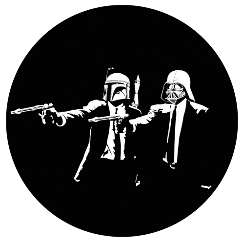 Pulp Star Wars/GLOW IN THE DARK SLIPMAT