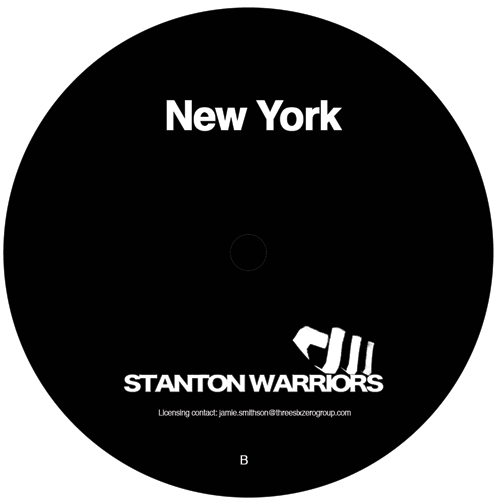 Stanton Warriors/NEW YORK 12""