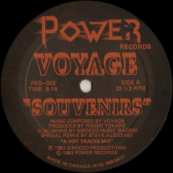 "Voyage/SOUVENIRS 12"""