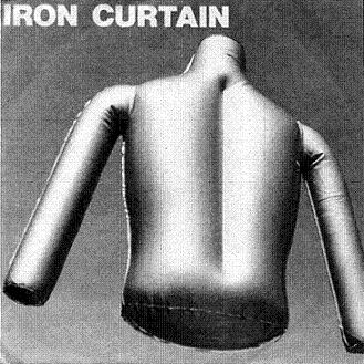 "Iron Curtain/TERROR STORY - ANOREXIA 7"""