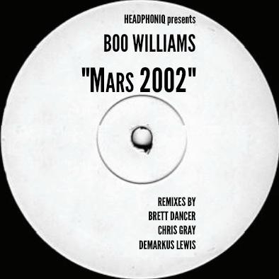 "Boo Williams/MARS 2002 (1-SIDED) 12"""