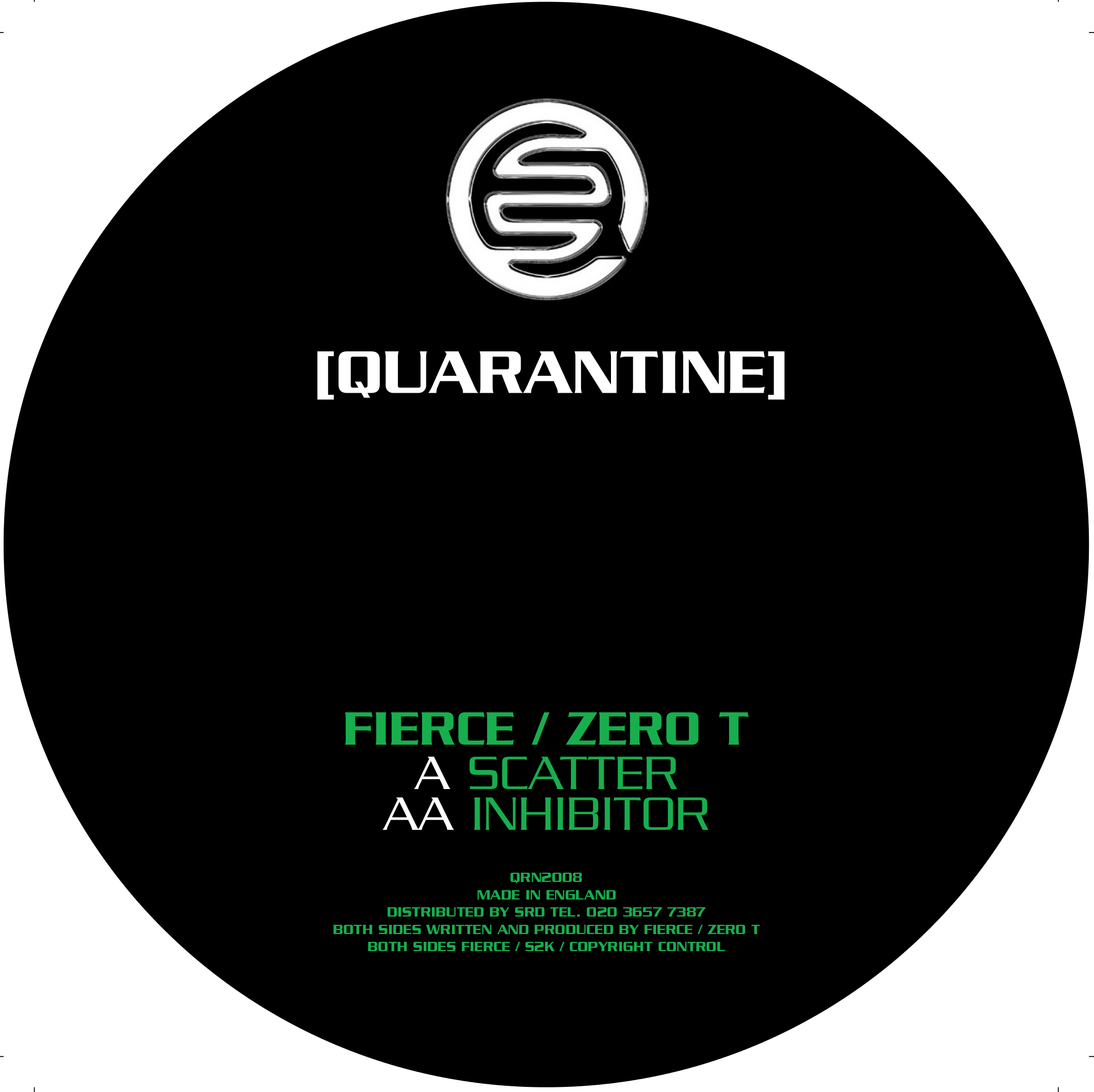 Fierce & Zero T/SCATTER 12""