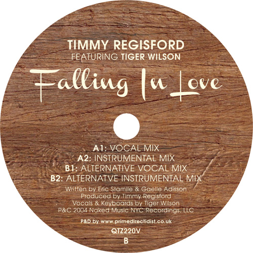 Timmy Regisford/FALLING IN LOVE 12""