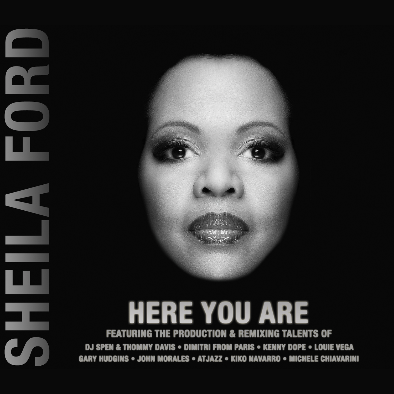 Sheila Ford/HERE YOU ARE CD