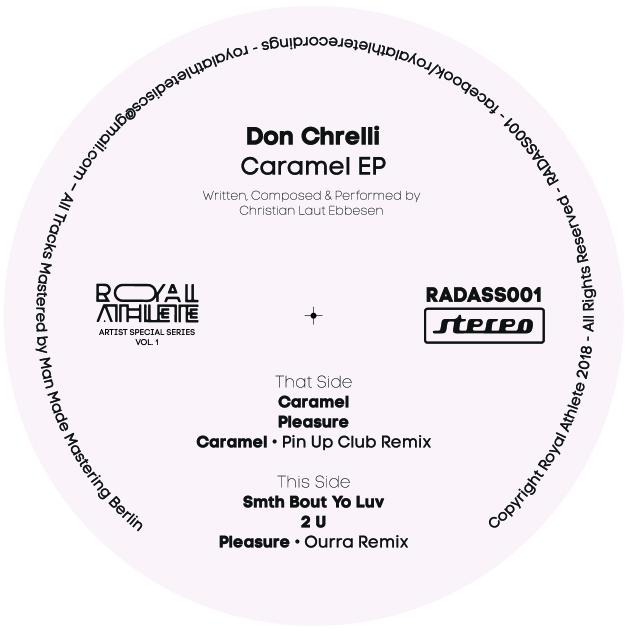 "Don Chrelli/CARAMEL EP 12"""